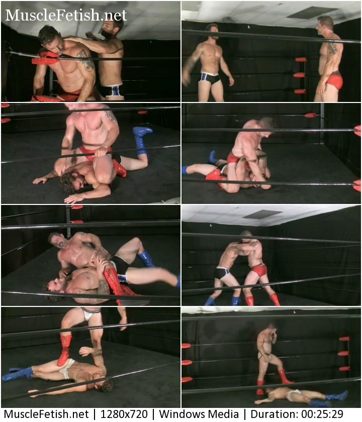 Wrestler Chace LaChance vs Rugged Matt Thrasher