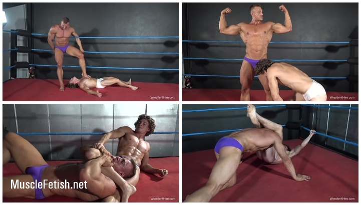 Wrestler4Hire - Bodybuilder Scrappy vs Drago