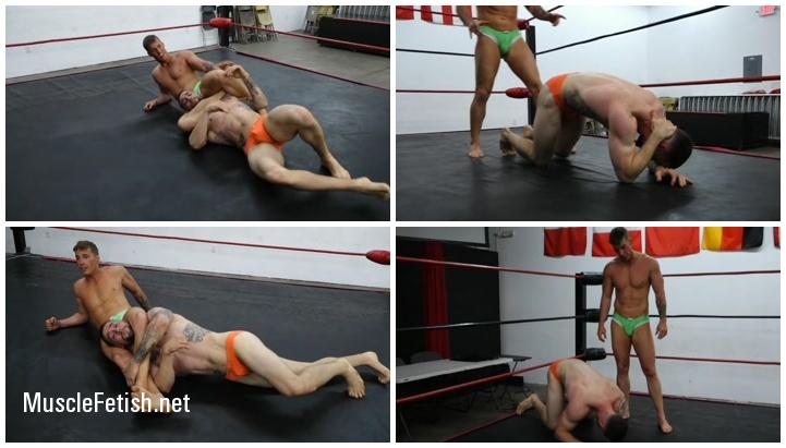 Wrestler4Hire - Cameron vs Cal Bennett