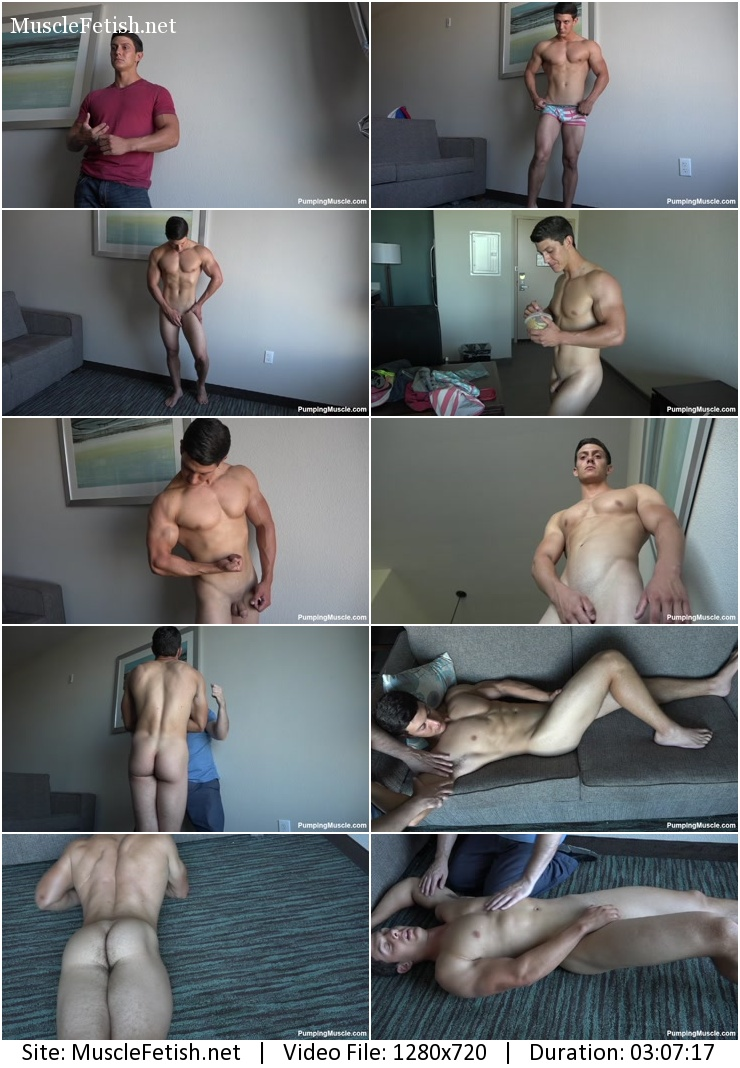 bodybuilder Chase O photo shoot part 1