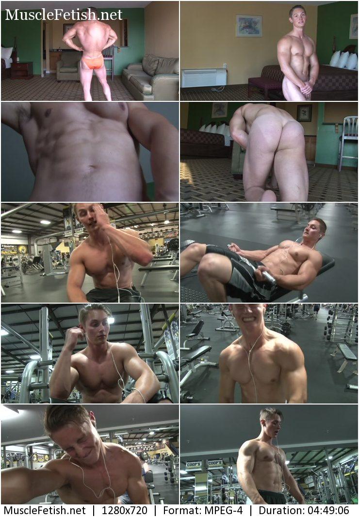 bodybuilder Roger M (19 year) photoshoot 1 (June 16, 2015)