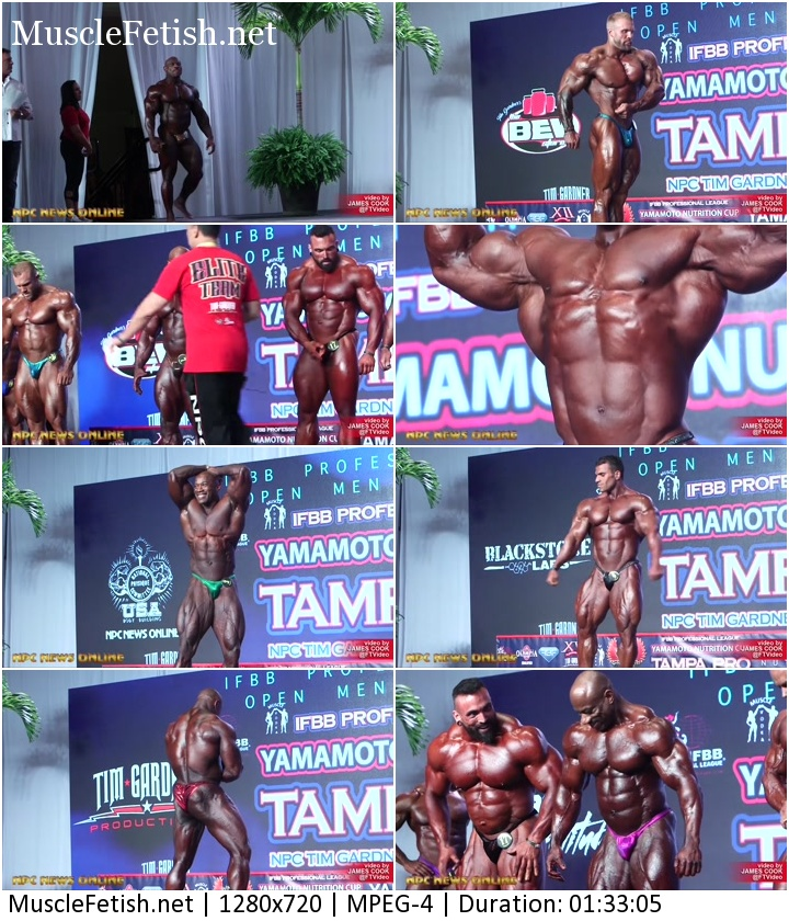complete male muscle show from Tampa Pro